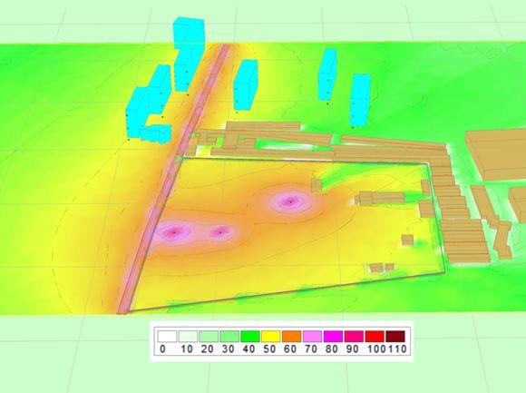 Проектування шумозахисних заходів. Розробка розділу «Захист від шуму» у складі проектної документації. Інструментальні вимірювання шуму                                                                             - Фото №3