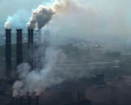 Разработка и утверждение технологических нормативов выбросов загрязняющих веществ